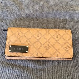 L.A.M.B saddle wallet